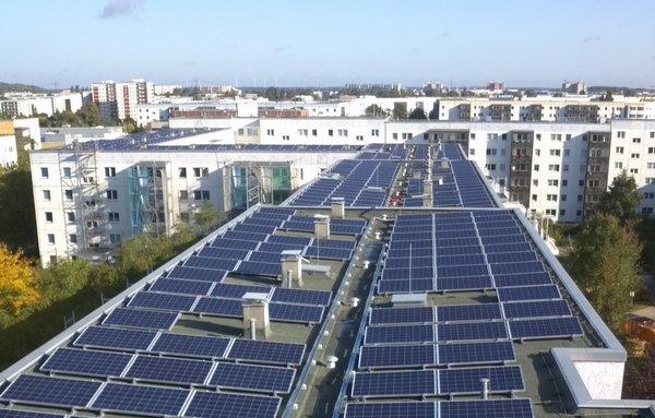 Solarer Mieterstrom im Gelben Viertel | Solarwende